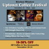 Uptown Coffee Festival is Supporting House of Charity!