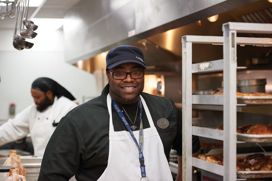 Feed. House. Empower. Photo of Kevin Walker, House of Charity Food Centre Director