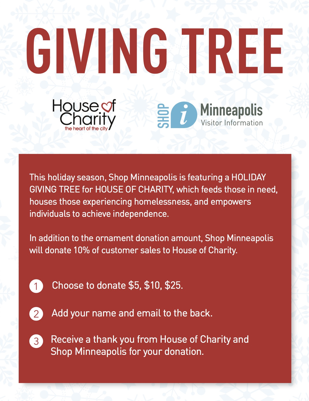 HOC Giving tree