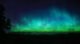 Image of the Northern lights at night